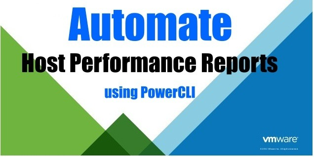 Automate Host Performance Reports