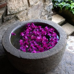 Antigua Guatemala, floral decor