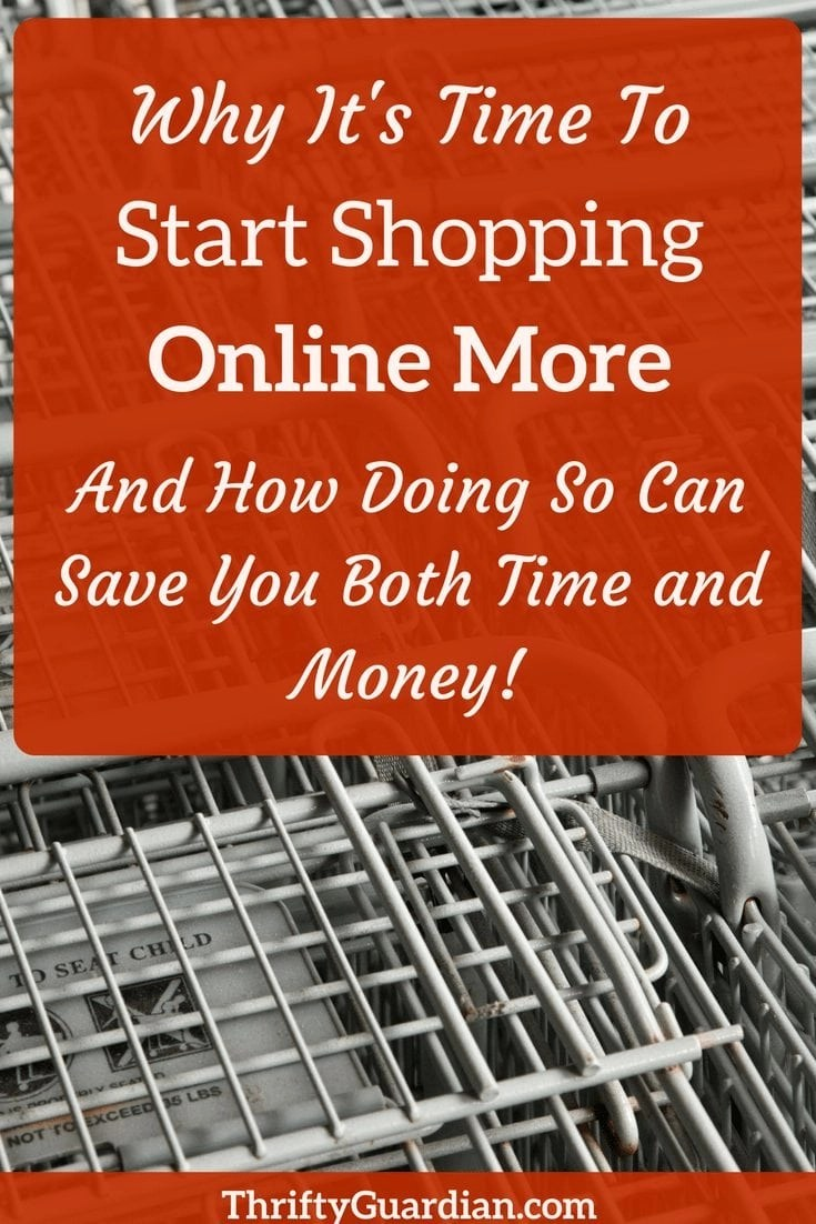 Reasons to Shop Online - How to Save Both Time and Money - Why it's time to shop online more and save yourself both time and money (especially if you're a parent!) Live frugal and do your shopping online. #shoponline #ebates #frugal #thrifty #ebates #savetime #savemoney #ibotta #shoplocal