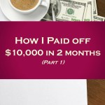How to pay down debt when you have no money.