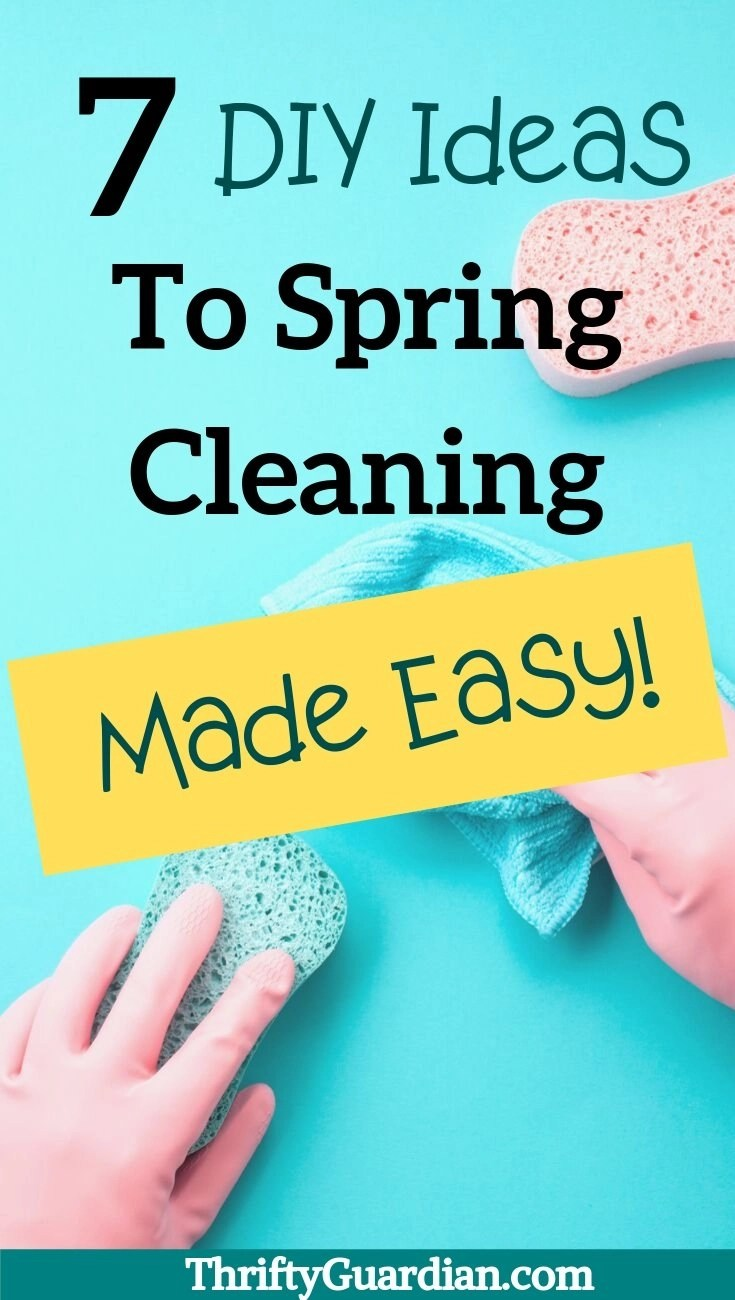 diy spring cleaning ideas
