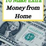 extra income ideas work from home