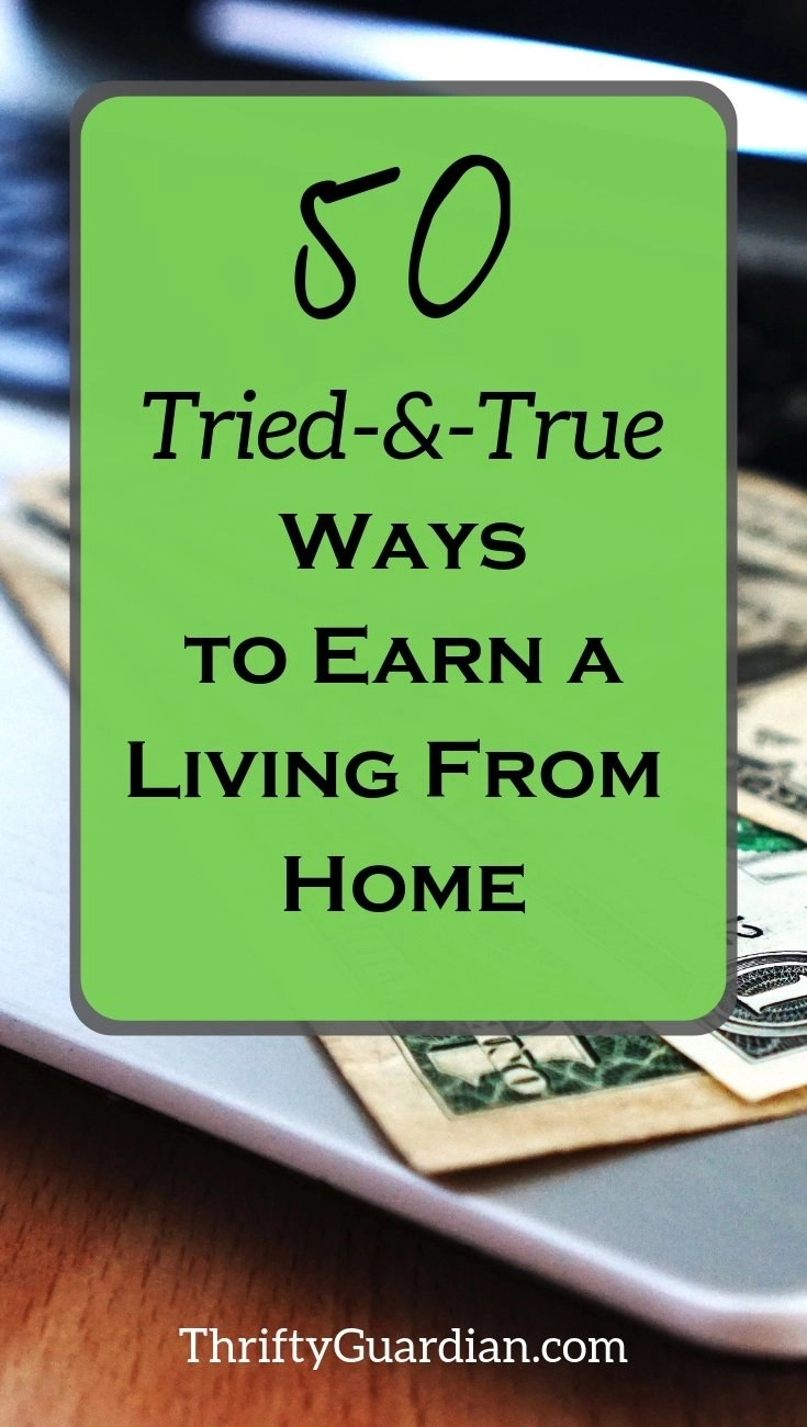 ideas on how to start making money from home