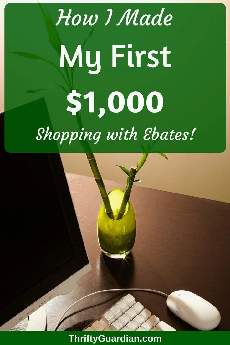 Want to make more money with #Ebates? Check out these two top earning secrets that I've used to make over $1,000 this year alone! #cashback #makemoneyonline #EbatesReview