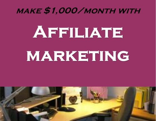 Affiliate marketing guide, how to make money blogging, work online