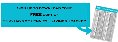 Savings Tracker Worksheet