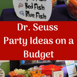 Dr. Seuss birthday party ideas and DIY tips for throwing a cute toddler or child's party on a budget. Throw a birthday party and save money. Learn how to make a Truffula tree, Seuss food, hop on pop, and other frugal party ideas.