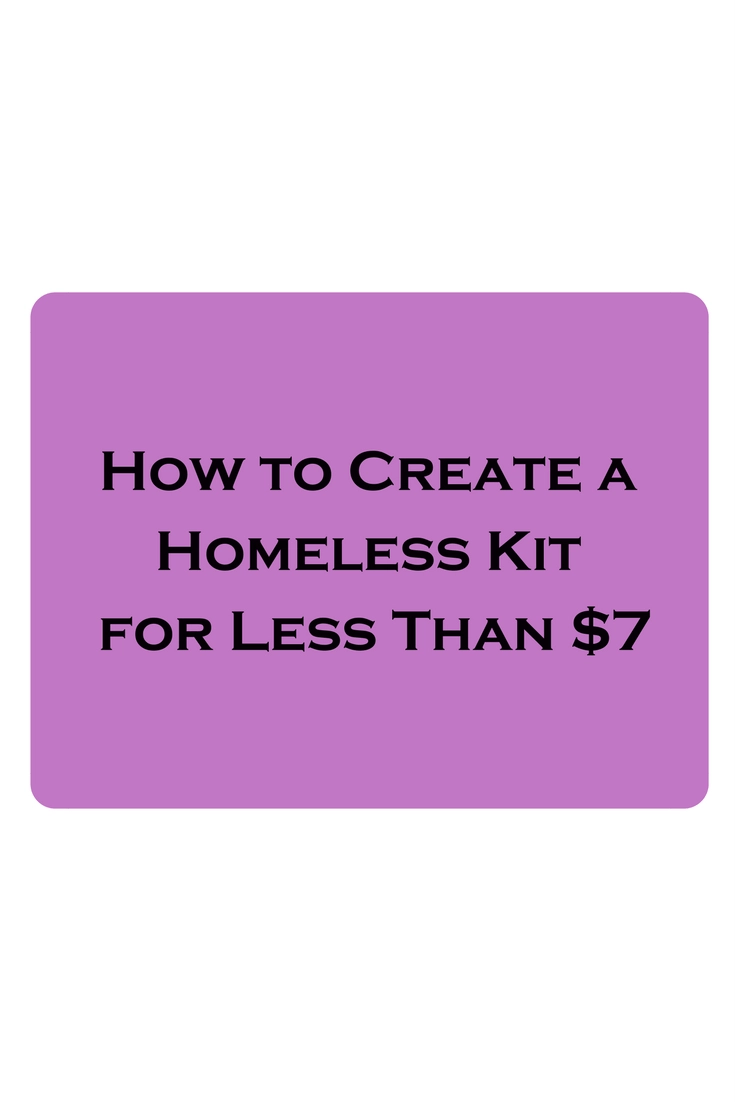 Homeless Kits: How Helping Others Helps You, Too