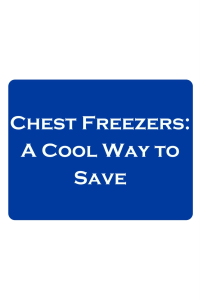 Investing in a Chest Freezer: A Cool Way to Save