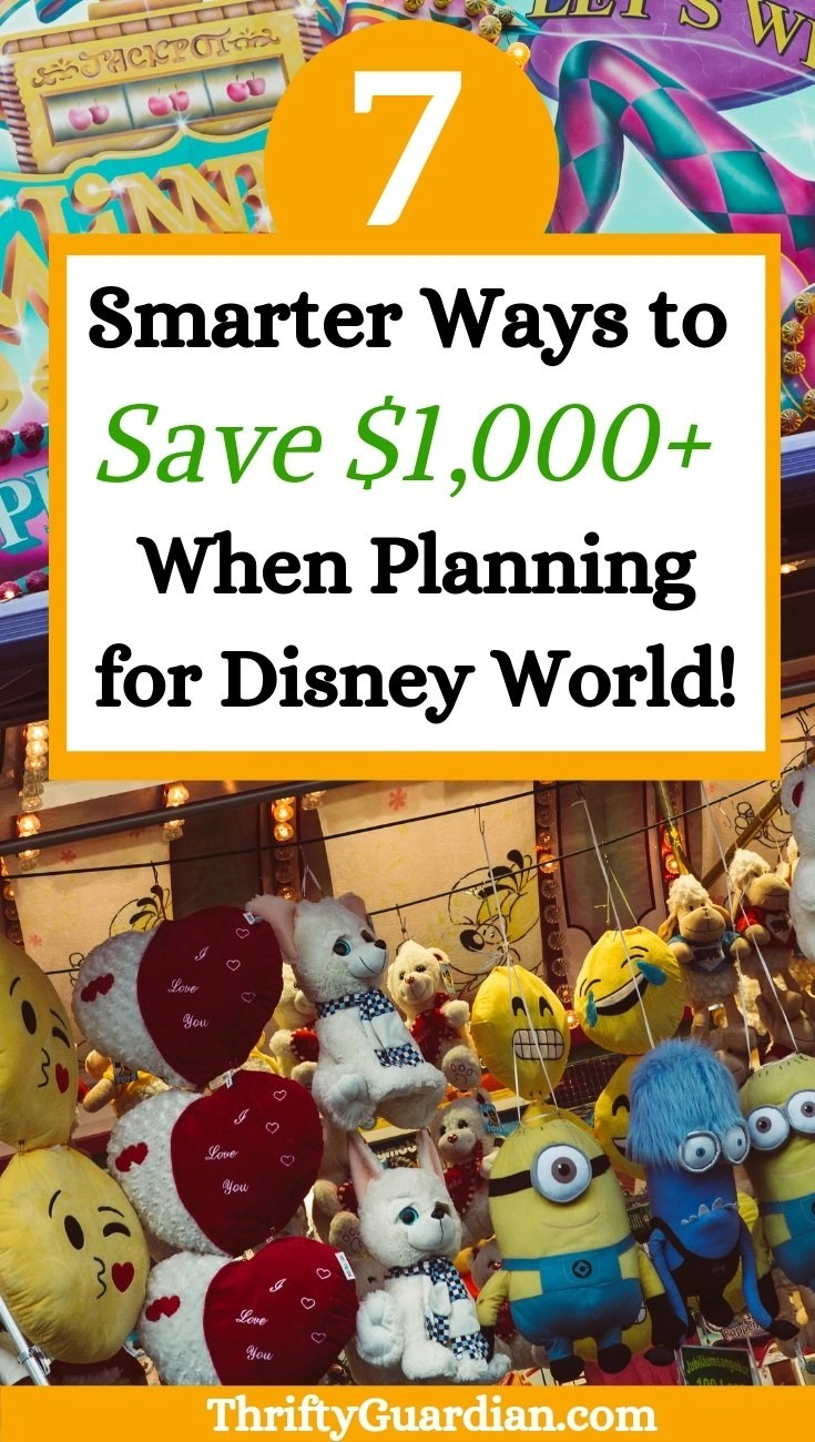 save money planning disney world