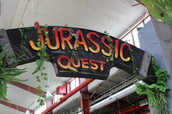jurassic quest welcome