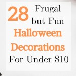 frugal halloween decoration ideas