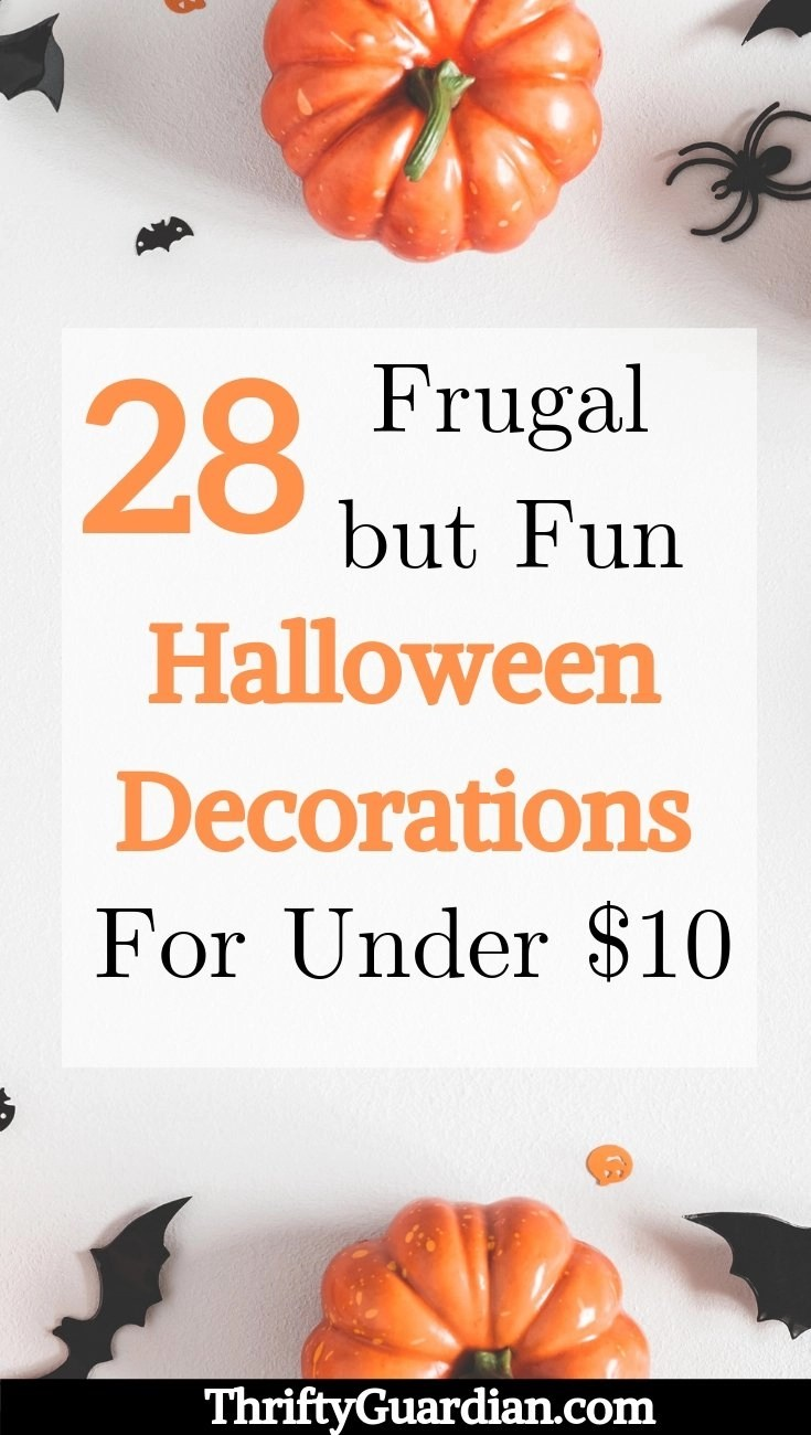 frugal halloween decoration ideas