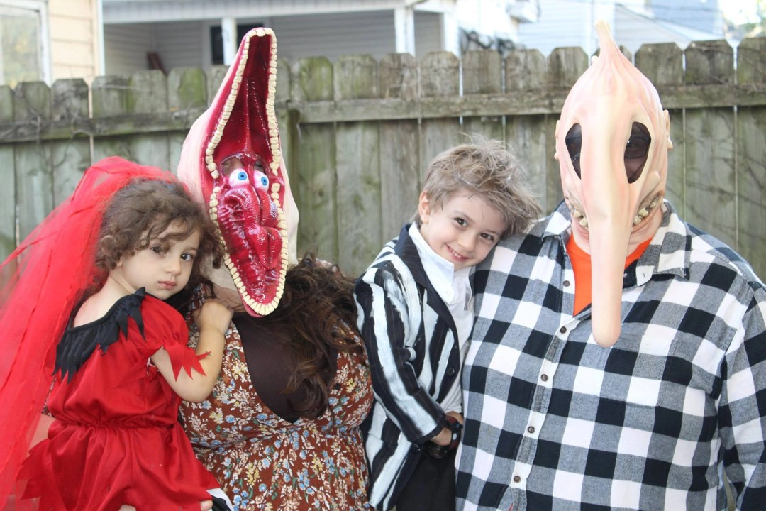 Beetlejuice family Halloween costume