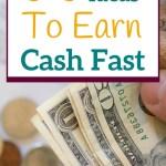 earn cash quick