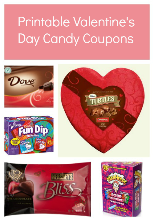Valentine Candy Printable Coupons Thrifty Jinxy