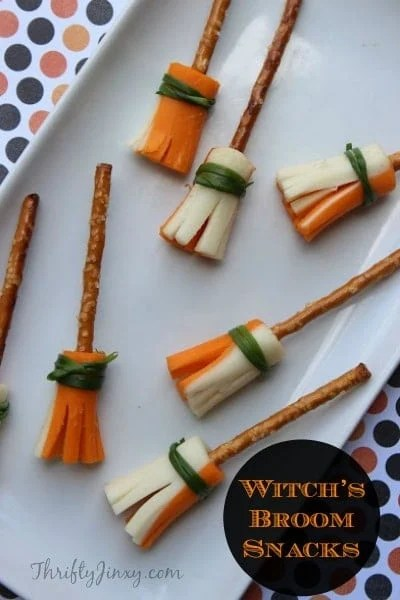 Halloween Treats - The BEST Witches Broom Stick Snacks