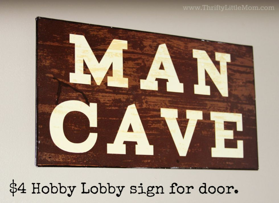 How to Create a Man Cave on a Budget » Thrifty Little Mom