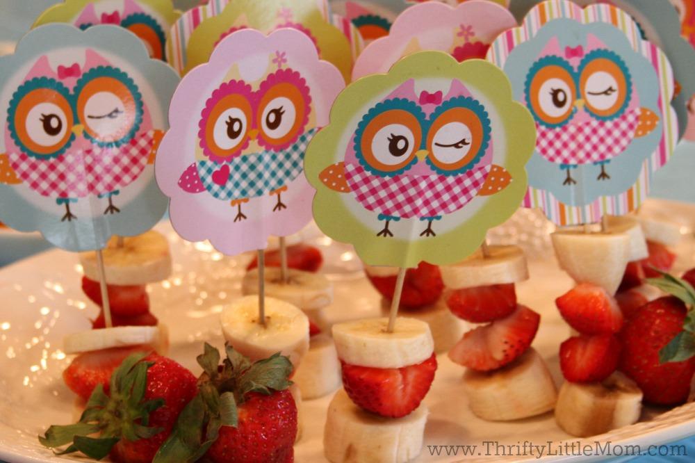 Throw A Cute Owl Themed Party Thrifty Little Mom