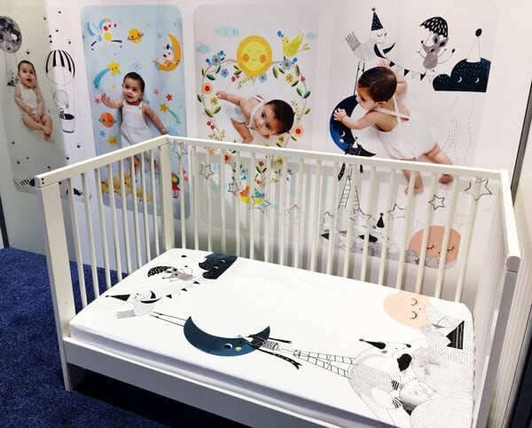 Rookie Humans Crib Sheets | Top Baby Products for 2017 from the ABC Kids Expo