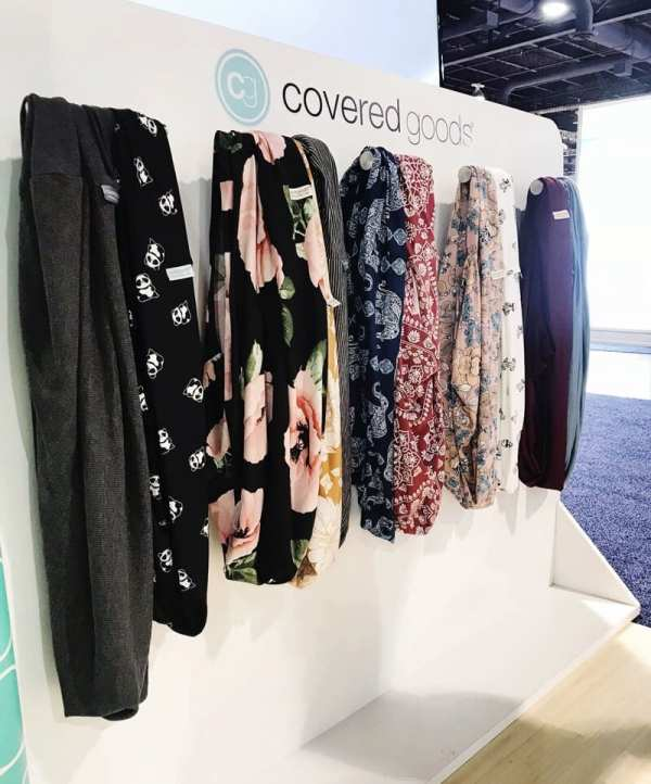 Covered Goods Nursing Covers | 65 Top Baby Products for 2018 from the ABC Kids Expo
