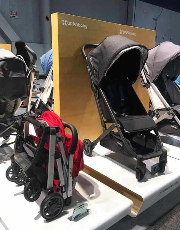 UPPAbaby Minu Stroller | 65 Top Baby Products for 2018 from the ABC Kids Expo