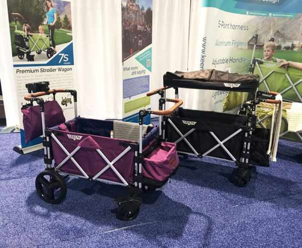 Keenz Premium Stroller Wagon | 65 Top Baby Products for 2018 from the ABC Kids Expo