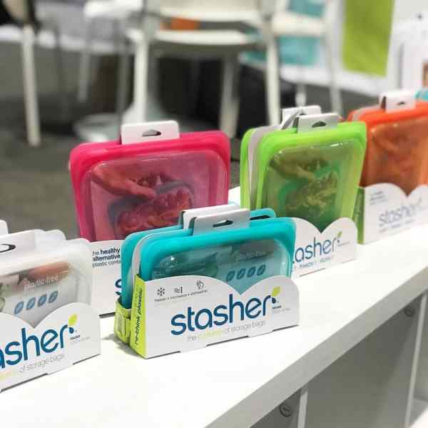 Stasher Food Storage Bags | 65 Top Baby Products for 2018 from the ABC Kids Expo
