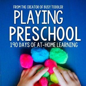 Shop Spotlight: Busy Toddler (Playing Preschool)