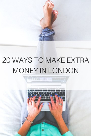how-to-make-extra-money-in-london