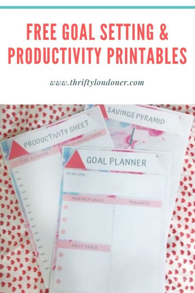 goal-planning-printables