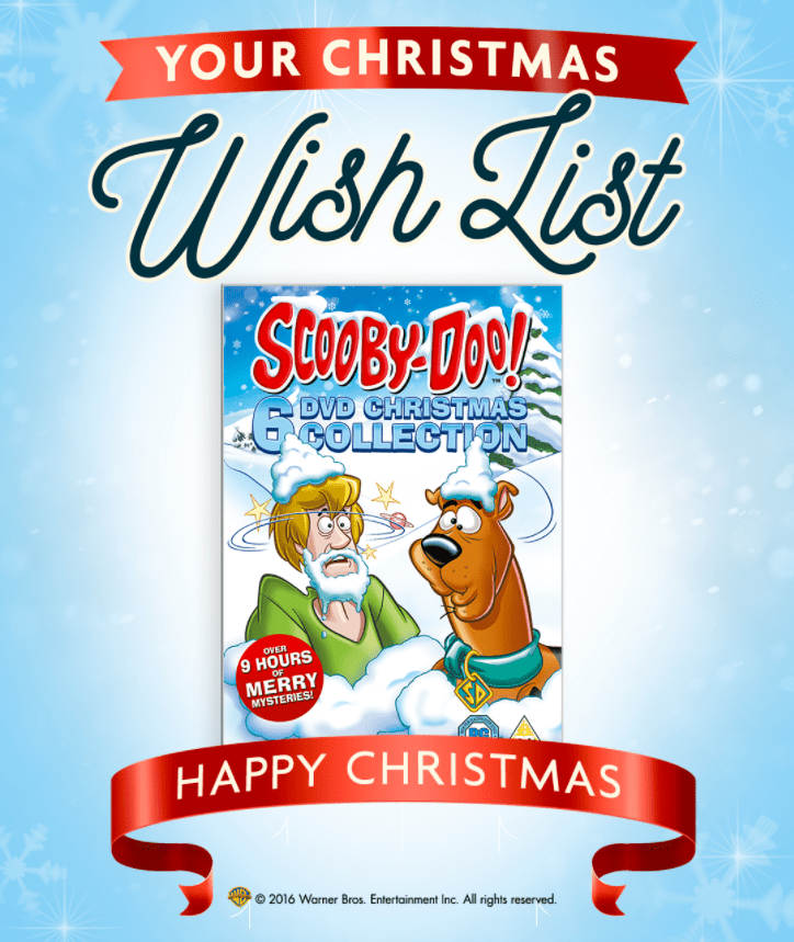 christmas movie scooby do gift set dvd