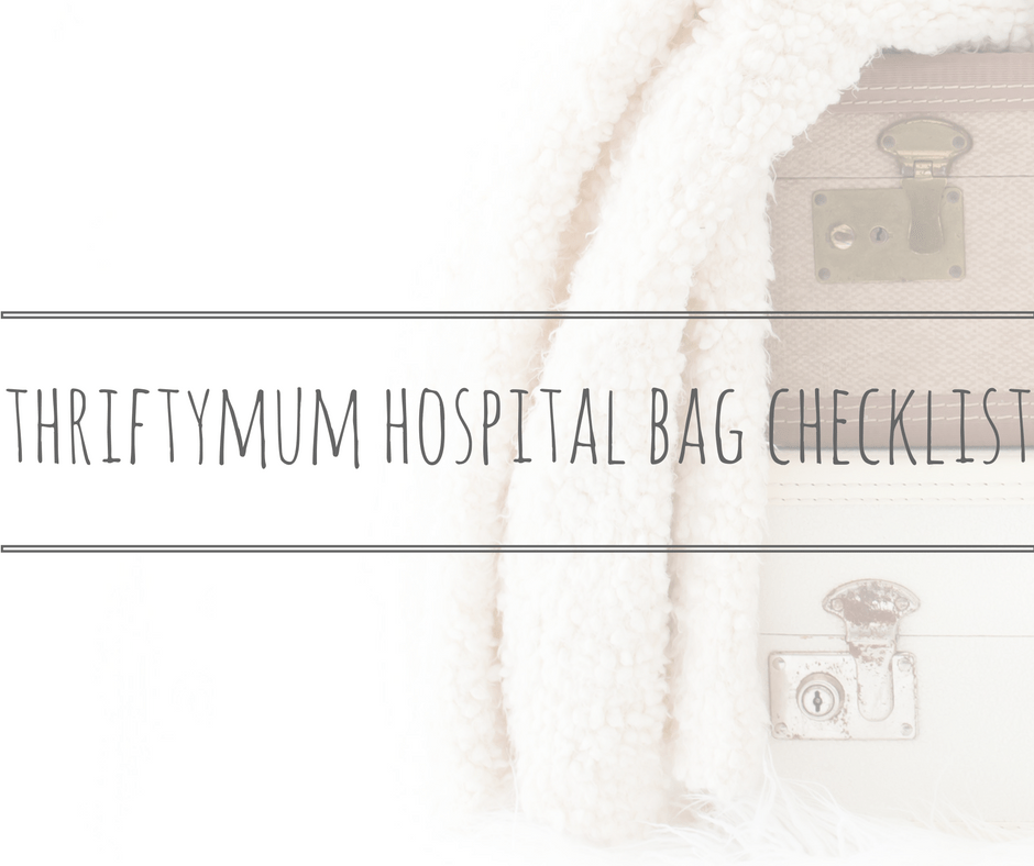 hospital bag checklist title