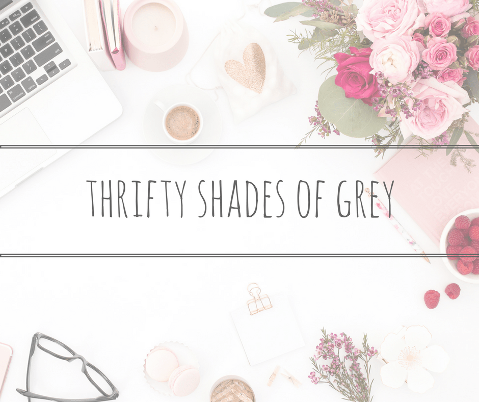thrifty shades of grey title page