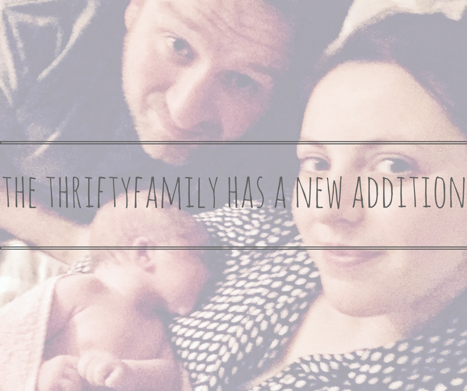 thrifty family new addition title
