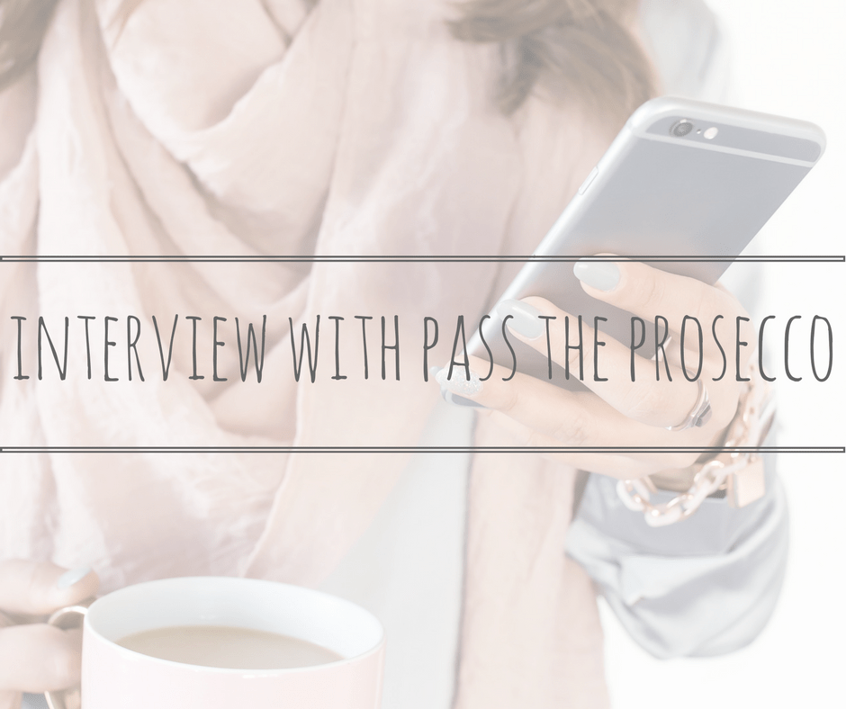 guest post pass the prosecco being mum