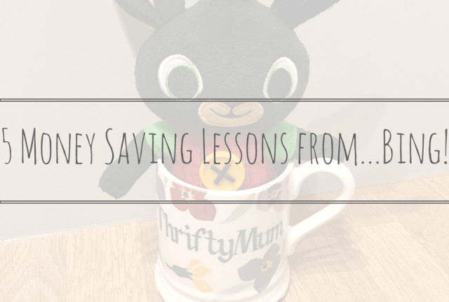 5 Money Saving Lessons from...Bing!