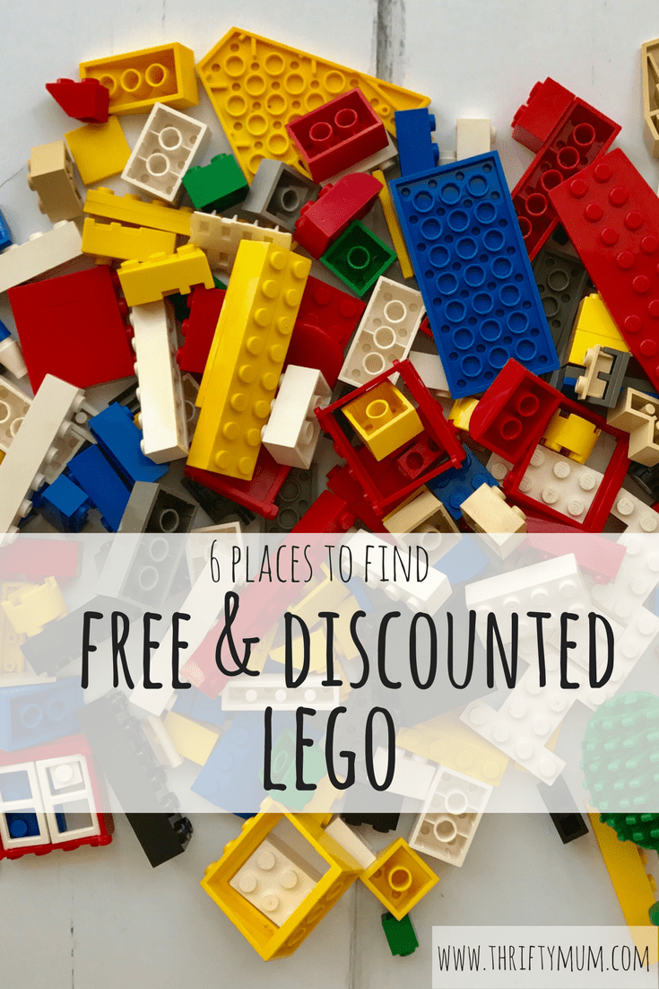 find free & discounted lego