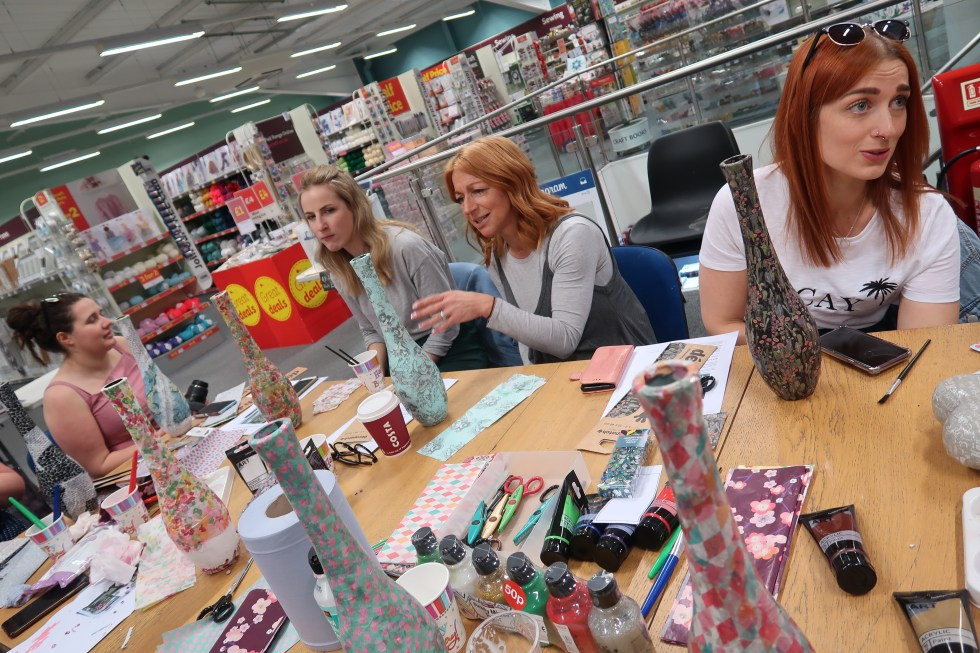 HobbyCraft free store events
