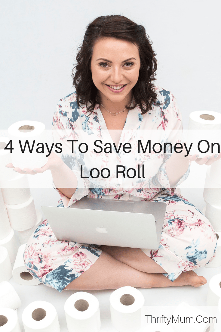 ways to save money on loo roll