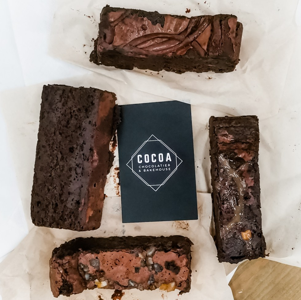weekend in hull chocolate brownies from cocoa chocolatier