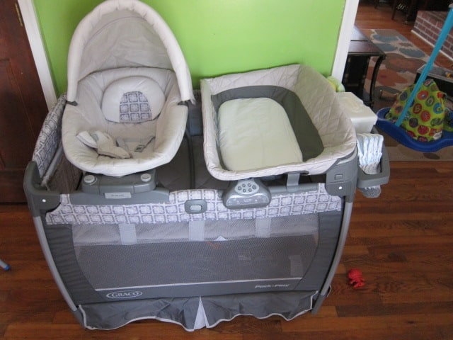 Graco Playard With Nuzzle Nest Sway Seat Review Thrifty