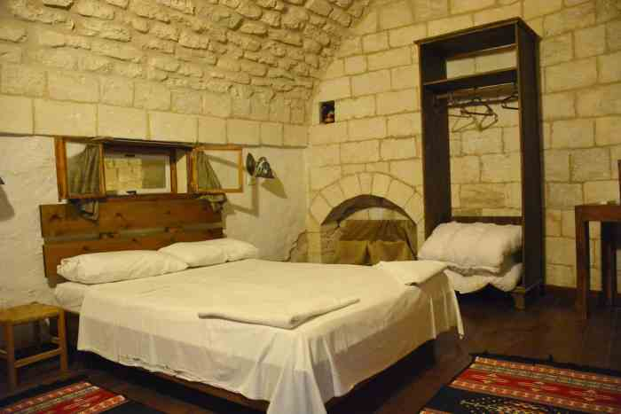My room at the Fauzi Inn in Nazareth.