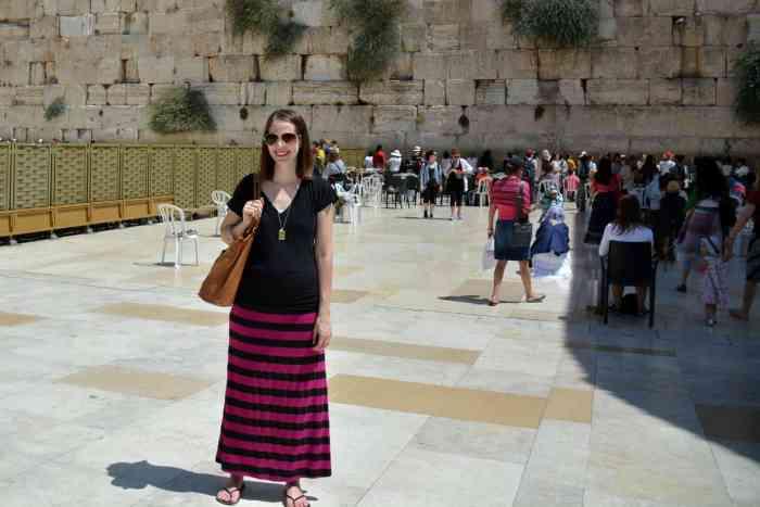 Western Wall (Wailing Wall) in Jerusalem