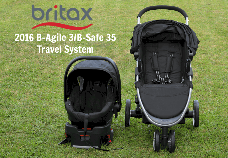 Britax B Agile Travel System Stroller Youtube