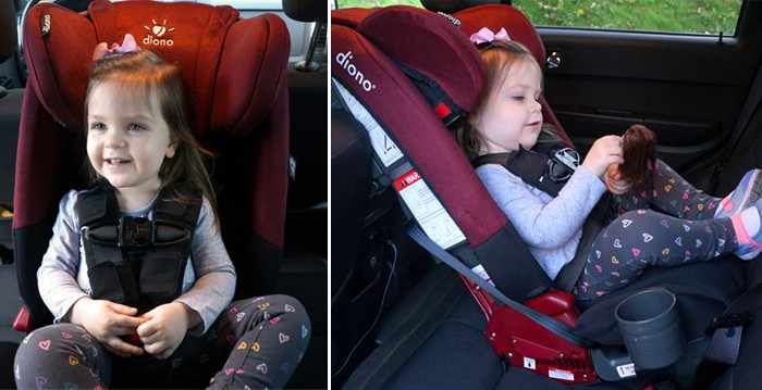 The Diono Radian RXT Car Seat Gives Your Child a Safe and Comfortable Ride