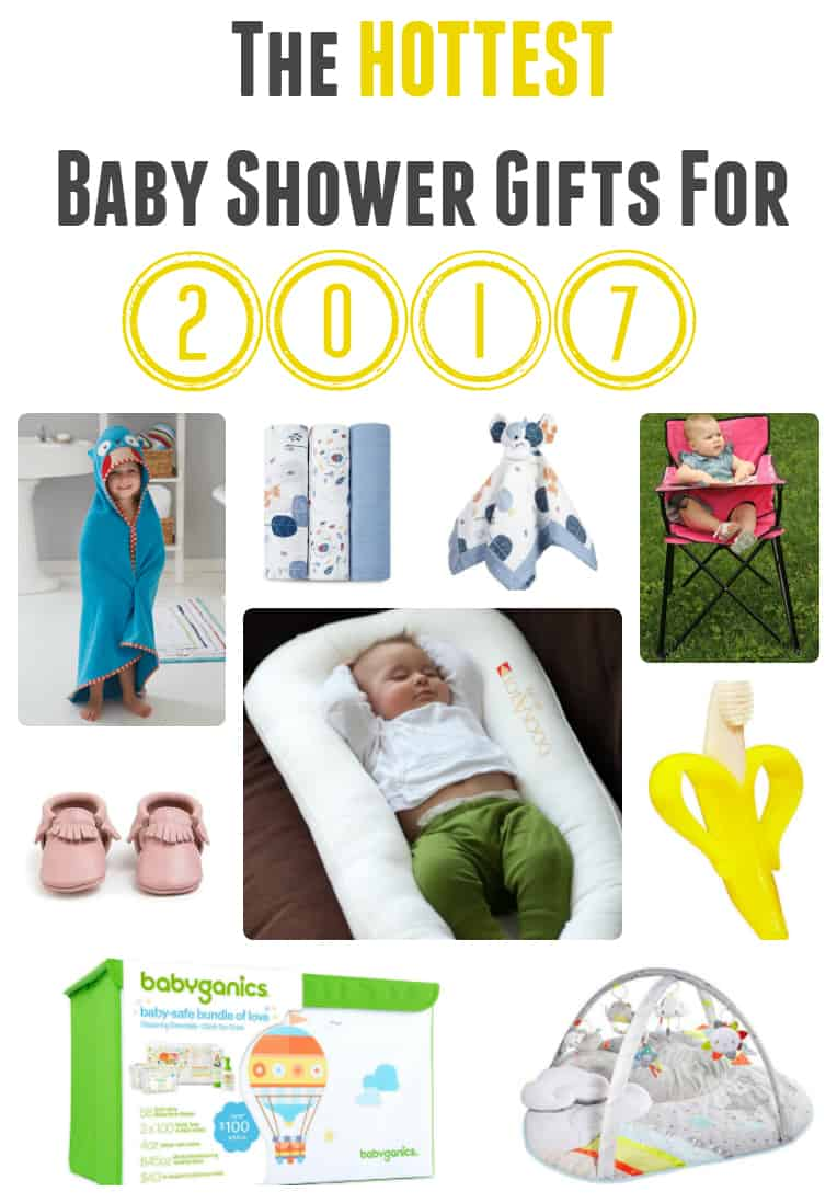hot baby shower gifts for 2017