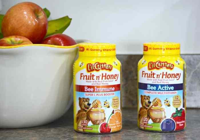 L'il Critters Fruit n' Honey Vitamins