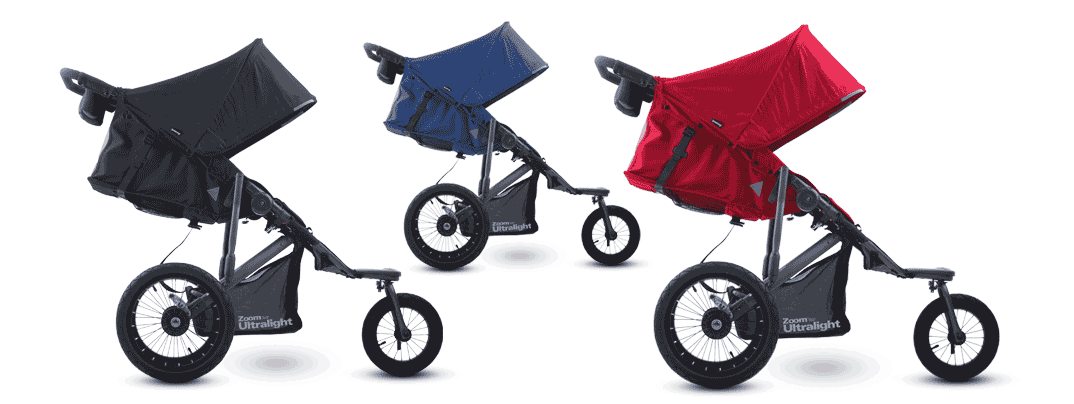 Joovy Zoom360 Ultralight Jogging Stroller - Feature-packed, value priced, and weighing in at 26.25 lbs, the Zoom360 Ultralight is simpler, stronger and better performing. Carries a child up to 75 lbs. {Thrifty Nifty Mommy}