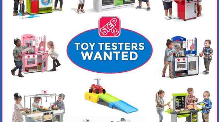 Be a Toy Tester for Step2! {No Blog Required!}